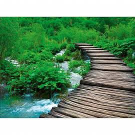 Картина Дървено мостче, 120х90 см