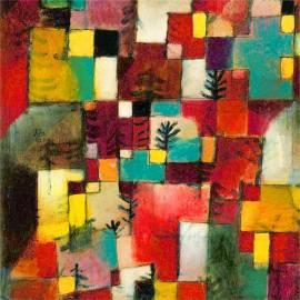 Картина Redgreen - Paul Klee, 40x40 см
