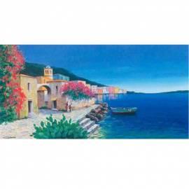 Картина Pescatori - Giberna, 50x100 см