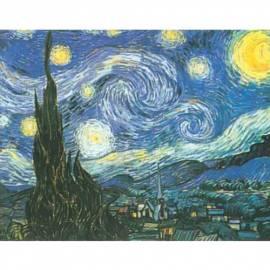 Картина Notte Stellata - Van Gogh, 23,5x28,5 см