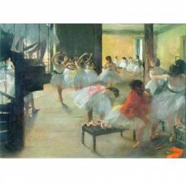 Imagén: Картина шагрен Dancing school - Edgar Degas - 19x26 см