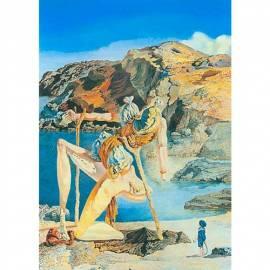 Картина Le spectre de sex-appeal - Salvador Dali, 22,5x28,5 см