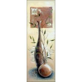 Картина Две вази, 30х80 см