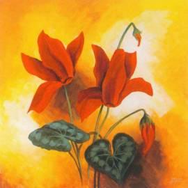 Картина Ciclamini 1 - Gianola, 30x30 см