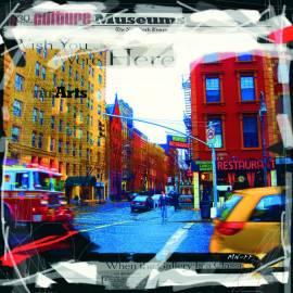 Картина New York Here, 70х70 см