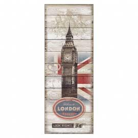 Картина London, 30х80 см