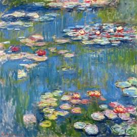 Картина Wather Lilies - Claude Monet, 50x50см
