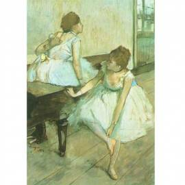 Картина Danseuse au repos - Edgar Degas, 18x25,5 см