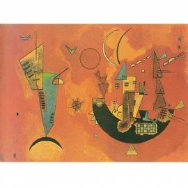 Картина Con e Contro - Wassily Kandinsky, 19,5x26 см