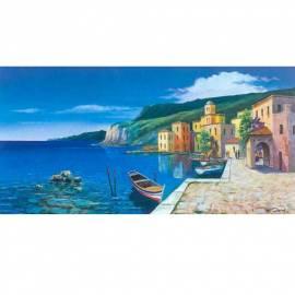 Картина L'approdo - Giberna, 50x100 см