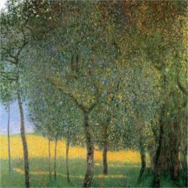 Картина Fruit Trees - Gustav Klimt, 50x50 см