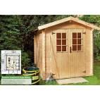 Дървена градинска къща - Mikka