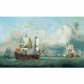 Картина Valiere-English Indiaman, 15x23 см