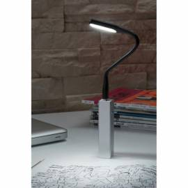 Настолна USB - LED лампа, черна