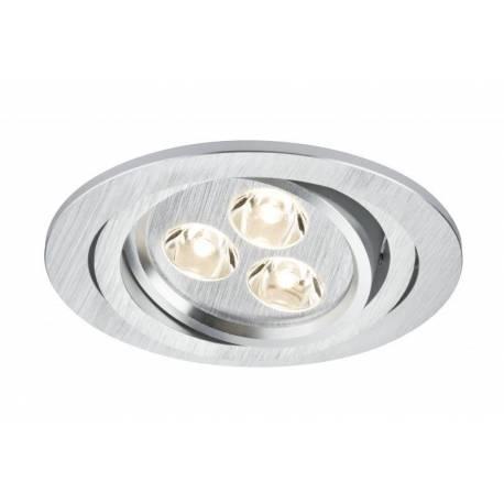Комплект LED луни, кръгли, 3х3 W, въртящи