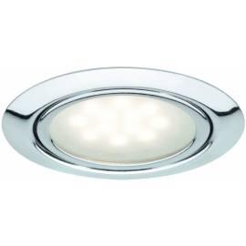 Мебелни LED луни,, 3х1 W, хром