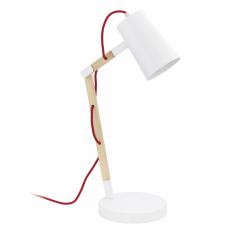Настолна лампа 1хE27 бяло...