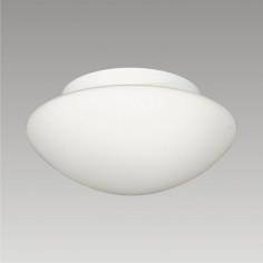 Imagén: Плафон за баня Aspen, 2xE27, IP44, диаметър 28 см, стъкло опал
