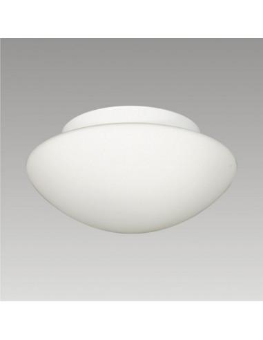 Плафон за баня, 2xE27, IP44, диаметър 28 см, стъкло опал