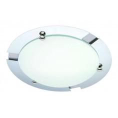 Imagén: Плафон за баня Biloner, 1х60W, E27, IP23, хром / стъкло