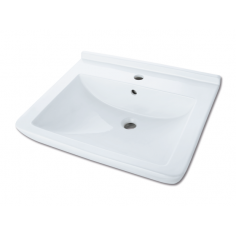 Мивка за баня 47 x 60 см, бяла