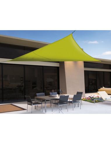 SUN-NET KIT тента 3.6 x 3.6 x 3.6m пилиестер/зелена 2012352