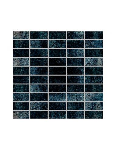 Мозайка, черна, 30x30 см