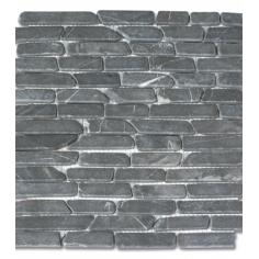 Мозайка, тухлички, сива, 30х30 см