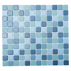 Мозайка Mix JT AT 251, синя, мат, 33x30,2 см