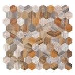 Самозалепваща мозайка SAM 4MWHXM, метал, 28x29 см