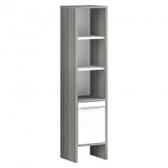 Средно висок шкаф 137х28х33 см