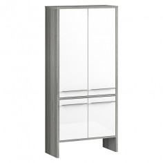 Imagén: Средно висок шкаф, двоен 137х28х62 см