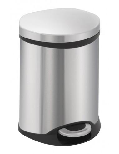 """Кош за отпадъци с педал """"SHELL"""" - 6 литра - мат EKO"""