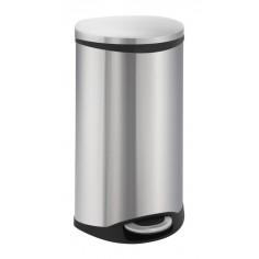 """Кош за отпадъци с педал """"SHELL"""" - 30 литра - мат EKO"""