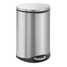 """Кош за разделно събиране на отпадъци с педал """"SHELL"""" - 2 х 22 литра - мат EKO"""