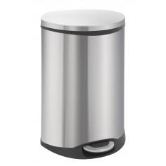 """Кош за отпадъци с педал """"SHELL"""" - 50 литра - мат EKO"""