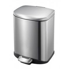 """Кош за отпадъци с педал """"DELLA"""" - 6 литра - мат EKO"""