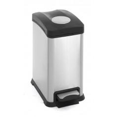 """Кош за събиране на отпадъци с педал """"REJOICE"""" - 12 литра - мат EKO"""