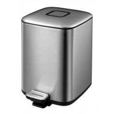 """Кош за отпадъци с педал """"REGENT"""" - 6 литра - мат EKO"""