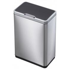 """Сензорен кош за разделно събиране на отпадъци """"MIRAGE"""" - 2 х 20 литра - мат EKO"""