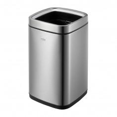 """Квадратен отворен кош за отпадъци """"LAGUNA"""" - 12 литра - мат EKO"""