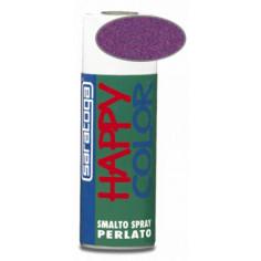 Happy color - спрей с перлен ефект - Лилав, 400 мл