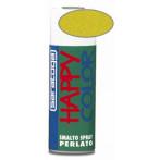 Happy color - спрей с перлен ефект - Жълт, 400 мл