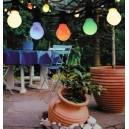 Imagén: Осветление за градината, 10 бр. цветни лампи