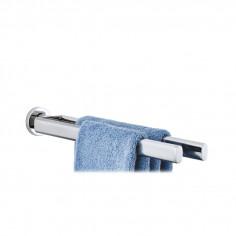 Двойна закачалка за кърпи AREO за стенен монтаж - полирана BLOMUS