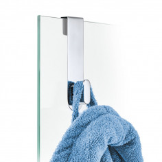 Закачалка за врата или душ кабина AREO - полирана BLOMUS