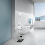 Стойка за 2 бр тоалетна хартия + четка за тоалетна MENOTO - полирана BLOMUS