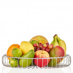 Imagén: Стоманена фруктиера ESTRA - Ø 37 см BLOMUS