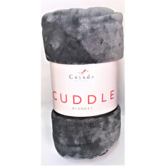 Одеяло от полар  - сиво -...