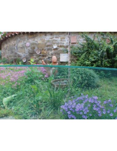 MINISQUARE 0.5x5m ограда 2012484 кафява
